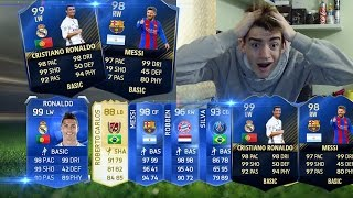 RONALDO TOTY E MESSI TOTY IN A PACK !!! TOP 5 BEST PACK OPENING TOTY IN THE WORLD! FIFA ITA