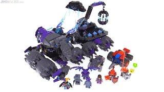 LEGO NEXO Knights Jestro's Headquarters review! 70352