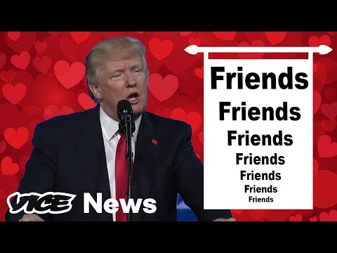 Donald Trump Lists His Friends