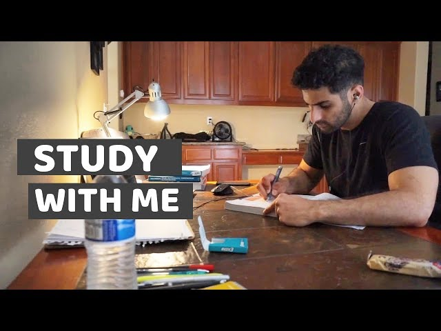 Study With Me (2 hours w/ music)