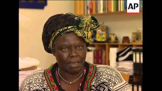 Interview With Fmr Nobel Peace Prize Winner Wangari Maathai