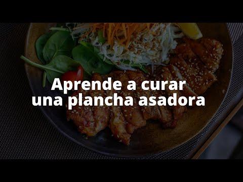 Proceso de curado para una plancha asadora- Pallomaro S.A