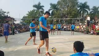 Chung Kết Giải Bóng Chuyền Ngọc Trạo 2018   Thành Vân vs Thạch Lâm ( Quản Nghia, Thạch Đen vs Dương)