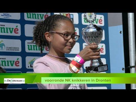 VIDEO   Elysha klopt Ian in finale voorronde NK knikkeren op Meerpaalplein