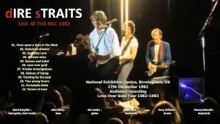 """Dire Straits """"It never rains"""" 1982-12-17 Birmingham [AUDIO ONLY]"""