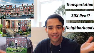 Boston Apartment Hunting! All you need to know before moving!!(Transportation, Rent, Neighborhoods)