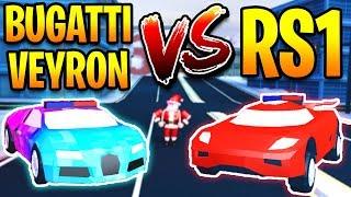 TORPEDO VS BUGATTI SPEED TEST! THIS IS THE FASTEST CAR in Jailbreak | Roblox Jailbreak Winter Update