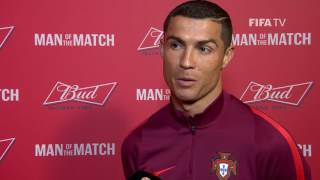 Cristiano Ronaldo: FIFA Man of the Match - Match 10: New Zealand v Portugal