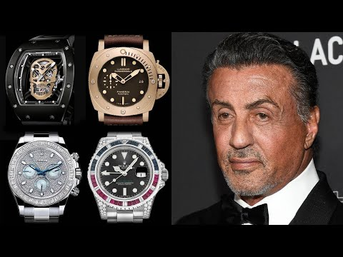 Sylvester Stallone Watch Collection – Rated from 1 to 10!
