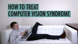 How is computer vision syndrome caused