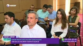 """Xezer TV """"Hədəf insan sağlamlığını qorumaqdır"""""""