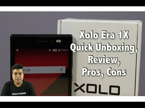 Hindi | Xolo Era 1X India Unboxing, Review, Pros, Cons, Comparison | Gadgets To Use