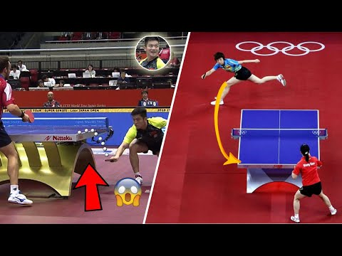 Table Tennis Plays – If Were Not Filmed Nobody Would Believe [HD]