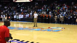 Evan Slack National Anthem (WNBA) Atlanta Dream
