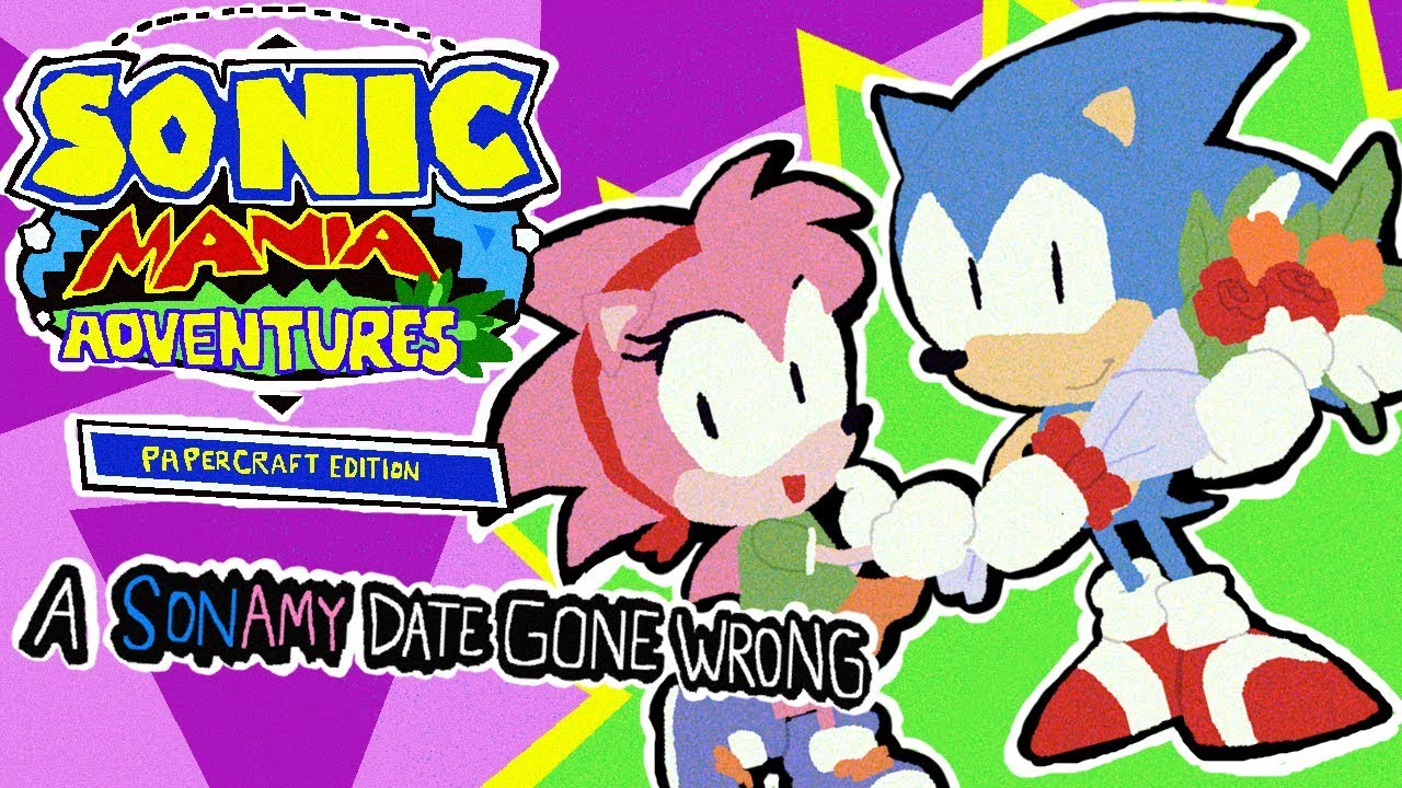 Papercraft Mania Adventures: A SonAmy Date Gone Wrong - MugiMikey
