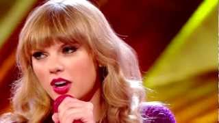 Taylor Swift We Are Never Ever Getting Back Together Live Performance X Factor 2013 Starlight Lyrics