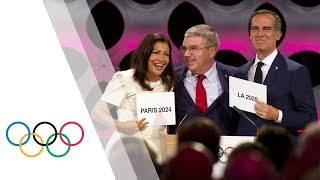 IOC Session – Day 1 - Olympic Games 2024 and 2028