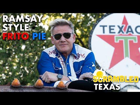 Gordon Ramsay Makes a Frito Pie Trackside in Texas | Scrambled