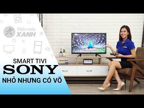 Smart Tivi Sony 32 inch: nhỏ nhưng cực kỳ lợi hại (KDL-32W610F) | Điện máy XANH