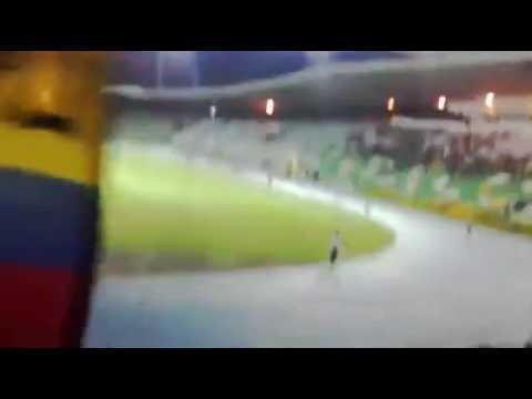 """""""Vamos Vamos Quindio"""" Barra: Artillería Verde Sur • Club: Deportes Quindío"""