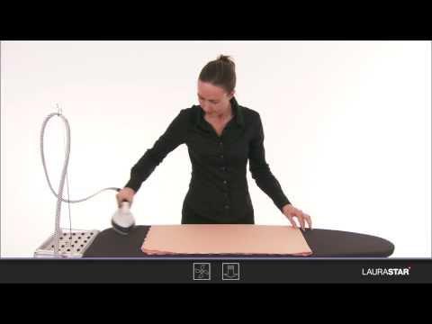 Laurastar - Come si stirano le tovaglie e la biancheria da letto?