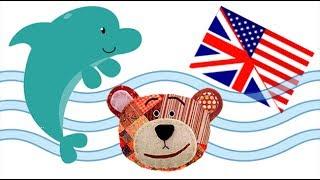 Nombres de animales marinos en inglés para niños