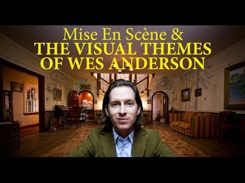 The unique visual style of Wes Anderson