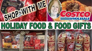 COSTCO HOLIDAY FOOD GIFT IDEAS AND SHOP WITH ME