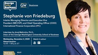 video - George Talks Business with Stephanie von Friedeburg