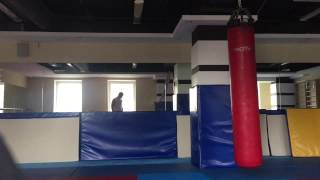 Мамедов Рамиз тренировка,бокс,кикбоксинг,карате