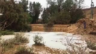بالفيديو الامطار تتساقط علي مدينة الرياض والفرحة تعم المدينة !