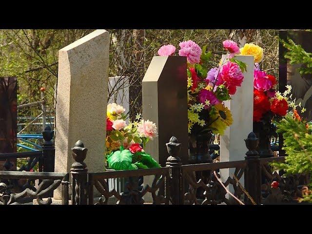 Смотритель кладбища едва увернулся от пули