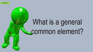 What Is A General Common Element?
