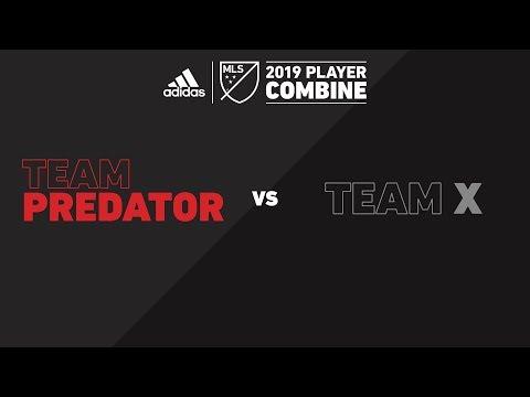 Team Team Predator vs. X | adidas MLS Combine 2019