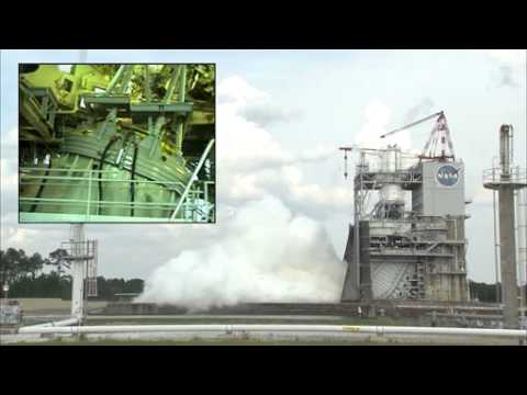 J-2X Engine Test, May 16, 2012
