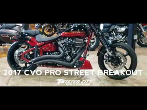 2017 Harley-Davidson® CVO™ Pro Street Breakout® : FXSE