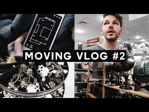 MOVING VLOG #2 – Shopping for Furniture + Home Decor | Imdrewscott