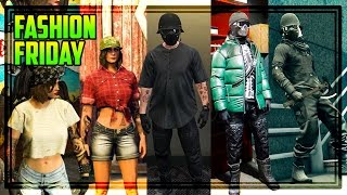 GTA 5 Online FASHION FRIDAY! 40 OUTFITS! (Night Rider, Winter Bandit, Biker & MORE)