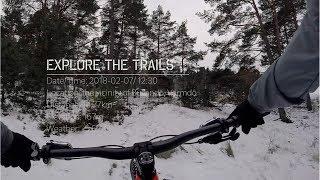 EXPLORE the TRAILS | Location: Bullandö | FatBike | SNOW