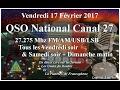Vendredi 17 Février 2017 QSO National du canal 27