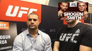 Shogun Rua Open To Alexander Gustafsson Rematch l UFC Hamburg