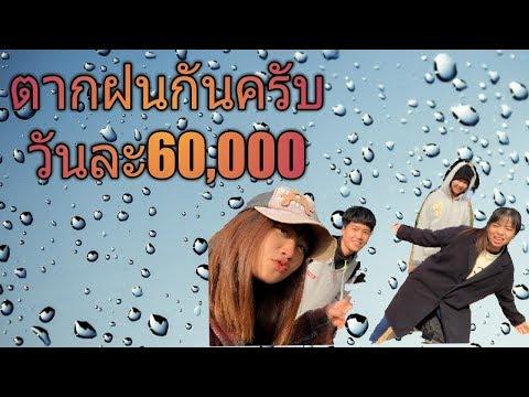 มาๆ มาตากฝนกันครับ แรงงานไทยในเกาหลี มัดหอม