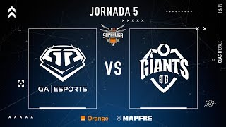 GA Esports VS Vodafone Giants | Jornada 5 | Temporada 2018-2019