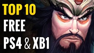 Top 10 Free PS4 & Xbox One Games