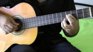 урок по гитаре соната бетховена самая легкая за 20 минут выучите!