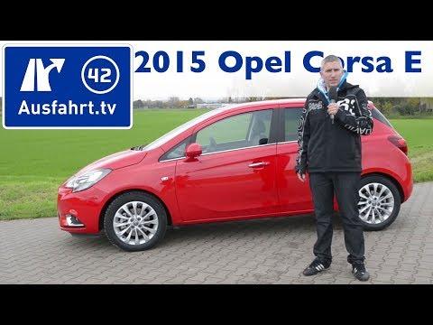 2015 Opel Corsa E 1.0 Turbo - Kaufberatung, Test, Review