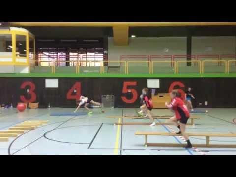 Erwärmung im Handballtraining für Kinder und Jugendliche Motivation und Abwechslung