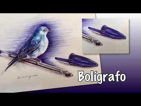 Técnica con bolígrafo
