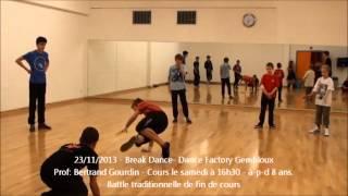 preview picture of video '23/11/2013 - Break Dance - Gembloux - Dance Factory'
