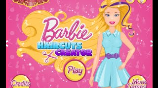 Baby Video -  Doing Barbie's Hair Games